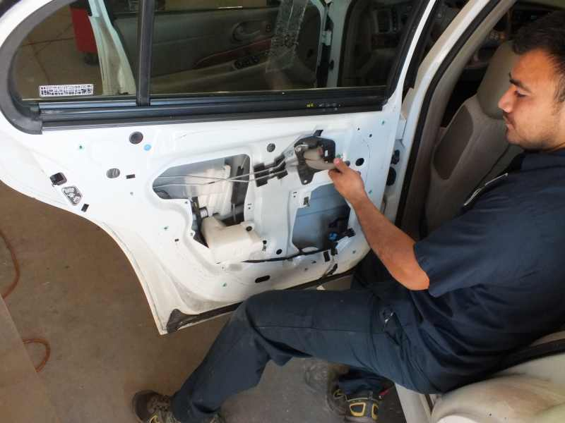 Car truck electric power window motor repairs quick inexspensively Car window motor replacement